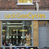 Logo for Jack Gee Cycles, Northwich
