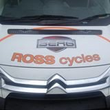 Logo for Ross Cycles, Castlewellan, County Down