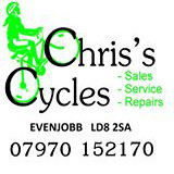 Chris's Cycles, Powys, Wales